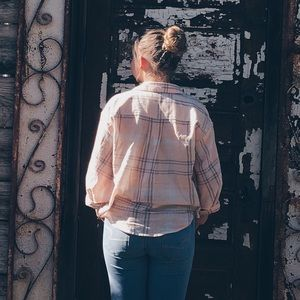 Pink Flannel from Free People